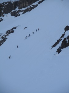 Ascent to Mount Toubkal