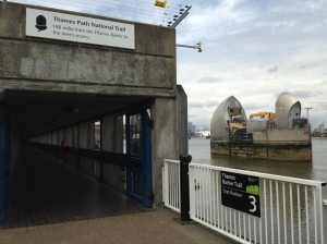 Thames Path National Trail Thames Barrier